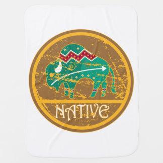 Native American Indian Buffalo Receiving Blankets