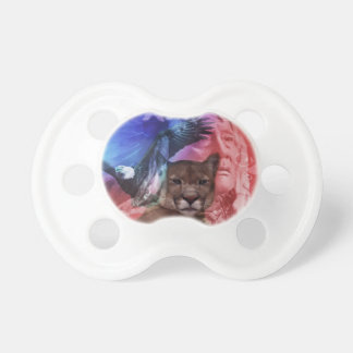 Native American Indian Chief Baby Pacifier