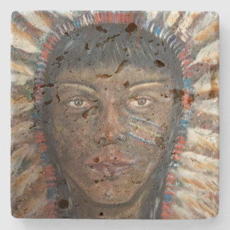 Native American Indian Coaster
