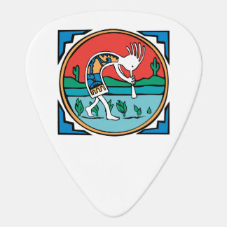 Native American Indian Kokopelli Guitar Pick