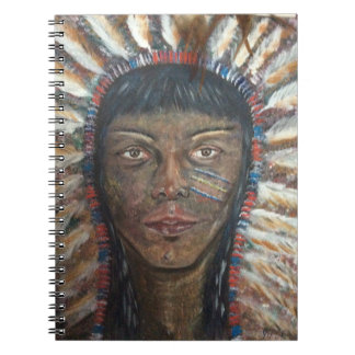 Native American Indian Note Book