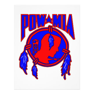 Native American Indian POW-MIA Custom Flyer