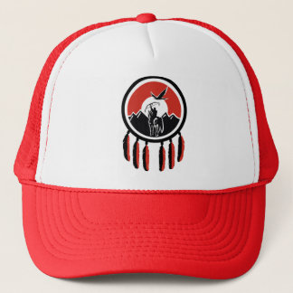 Native American Indian Shield Trucker Hat
