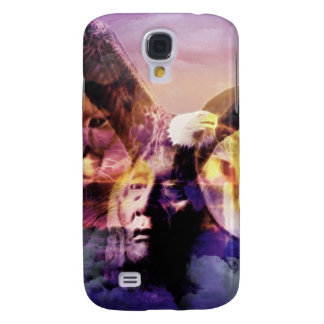 Native American Indian Warrior Galaxy S4 Case