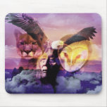 Native American Indian Warrior Mousemat
