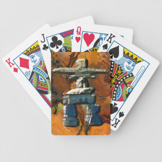 Native American Inuit Eskimo Inukshuk Card Deck