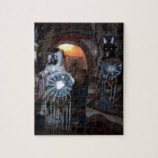 Native American Kachina Dolls Jigsaw Puzzle