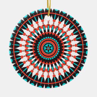 Native American Mandala Christmas Ornament