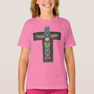 Native American Monogram Totem Day of Giving T-Shirt