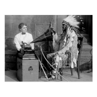 Native American Music 1915 Post Cards