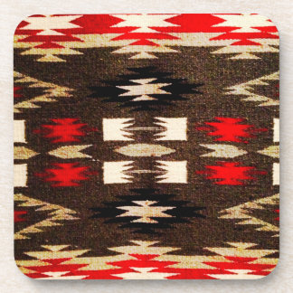Native American Navajo Tribal Design Print Coaster