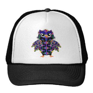 Native American Owl Trucker Hat