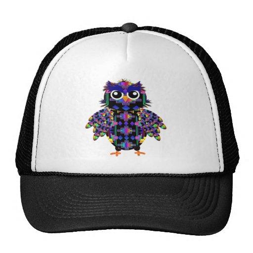 Native American Owl Mesh Hat