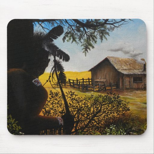 Native American Painting Mouse Pads