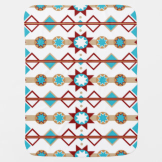 Native American Pattern Baby Blanket