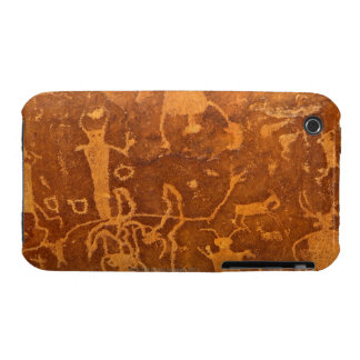 Native American petroglyphs, Rochester Panel, Case-Mate iPhone 3 Cases