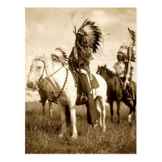 Native American Postcard