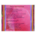 Native American Prayer Posters