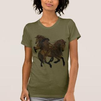 Native American Princess and Stallions Shirt