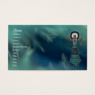 Native American Profile Card