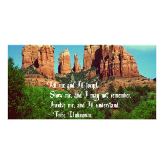 Native American Proverb Photo Cards