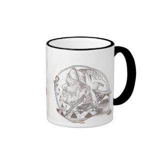 Native American Ringer Mug