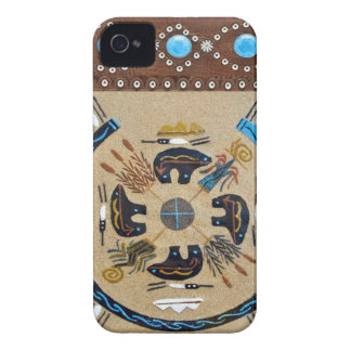 """Native American Sandpainting"" Wes Blackberry Case"