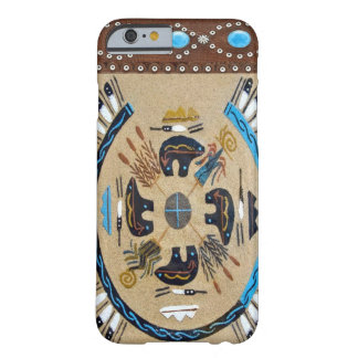 """""""Native American Sandpainting"""" Western iPhone 6 ca Barely There iPhone 6 Case"""