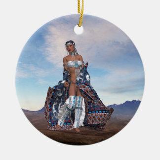 Native American Scenes Ornament