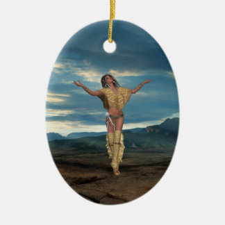 Native American Scenes Ornament