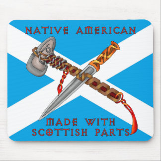 Native American/Scots Mouse Pad