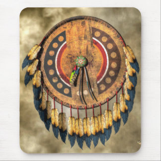 Native American Shield Mouse Mat