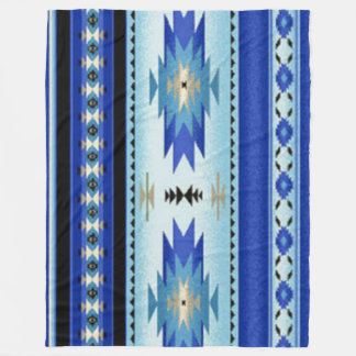 NATIVE AMERICAN (Simulated) Fleece Blankets