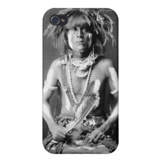 Native American Snake Priest, 1900 iPhone 4 Cases