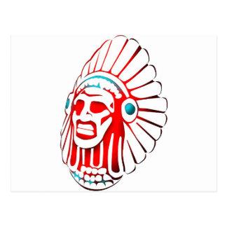 Native American spirit 01 Postcard