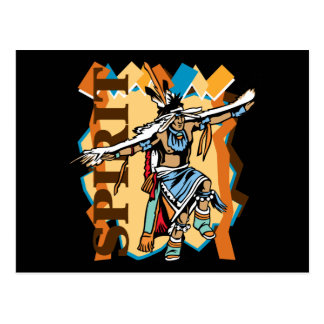 Native American Spirit Dance Postcard