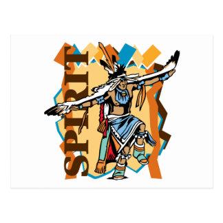 Native American Spirit Dance Postcards