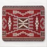 Native American Storm Pattern Weaving Mousepad