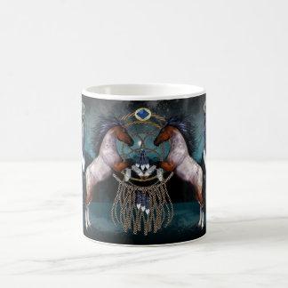 Native American Style Horse Gift Mug