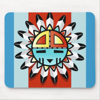 NATIVE AMERICAN SYMBOL MOUSE PAD