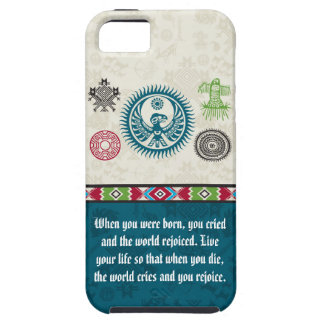 Native American Symbols and Wisdom - Phoenix iPhone 5 Covers