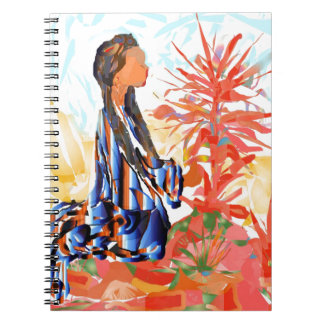 "Native American ""The giving Tree"" Spiral Notebook"