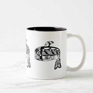 Native American Tlingit Whale Mug