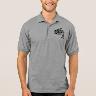Native American Tlingit Whale Polo Shirt