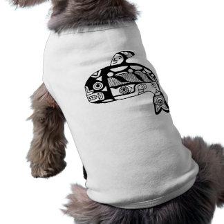 Native American Tlingit Whale Sleeveless Dog Shirt