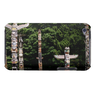 Native American totem poles, Vancouver, British Barely There iPod Case