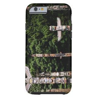 Native American totem poles, Vancouver, British Tough iPhone 6 Case