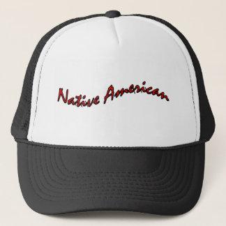 native american trucker hat