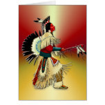 Native American Warrior #5 Greeting Cards