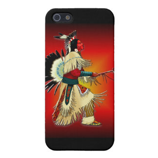 Native American Warrior #6 Covers For iPhone 5